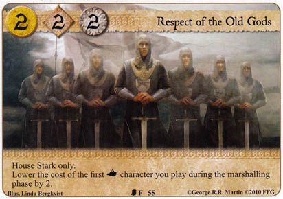 Respect of the Old Gods
