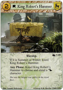 King Robert's Hammer