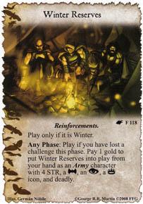 Winter Reserves