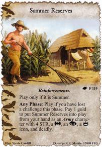 Summer Reserves