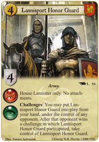 Lannisport Honor Guard
