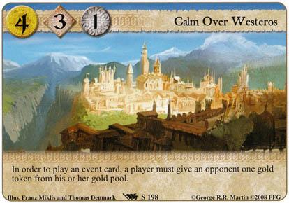 Calm Over Westeros