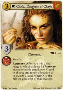 Chella, Daughter of Cheyk