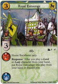 Royal Entourage