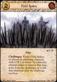 Field Spikes