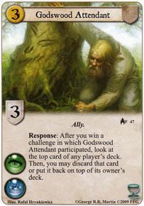Godswood Attendant