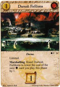 Dornish Fiefdoms