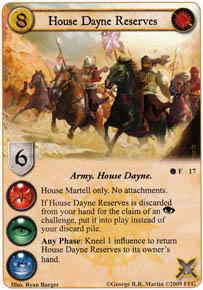 House Dayne Reserves