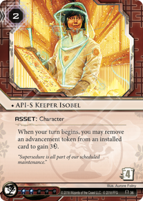API-S Keeper Isobel