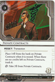 Private Contracts