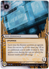 New Red Herrings Card