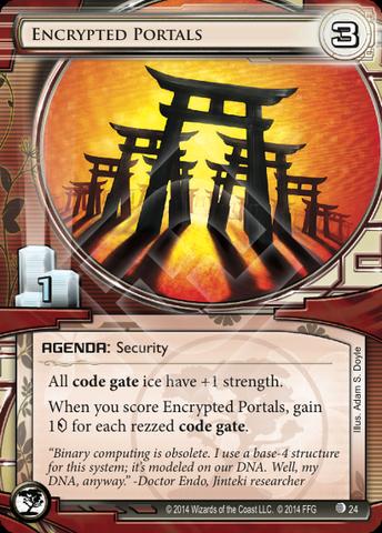 Encrypted Portals