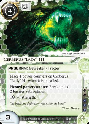"Cerberus ""Lady"" H1"