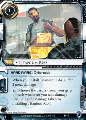 Titanium Ribs