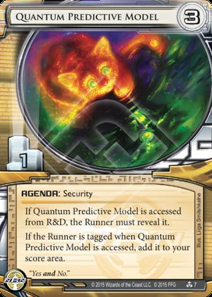 Quantum Predictive Model