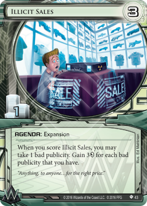 Illicit Sales