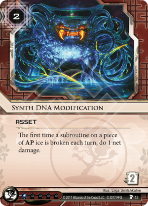 Synth DNA Modification