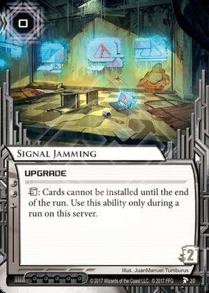Signal Jamming