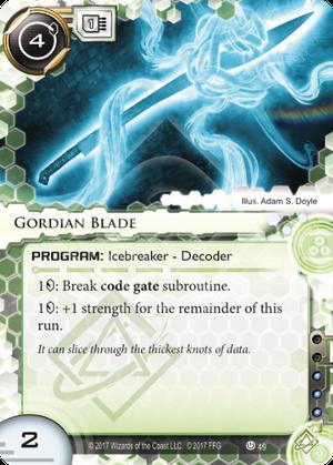 Gordian Blade