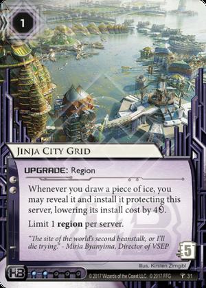Jinja City Grid