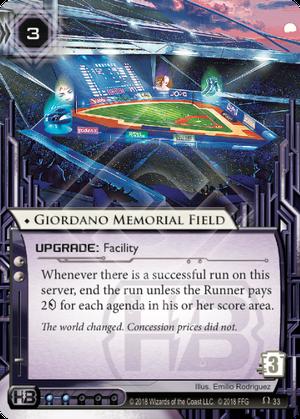 Giordano Memorial Field