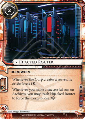 Hijacked Router