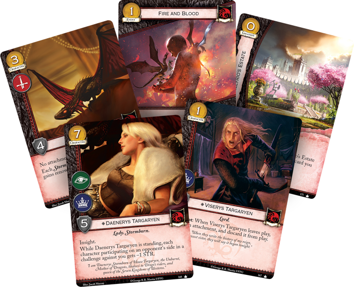AGoT Core Set Review: Targaryen! - Game of Thrones ...