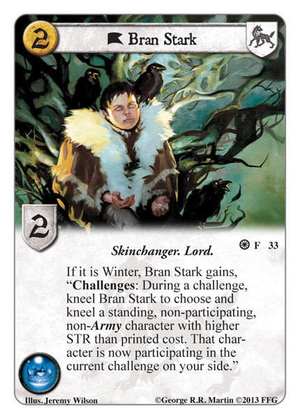 Beheading Ned Bran Stark Game Of Thrones Cardgamedb Com Articles Card Game Db