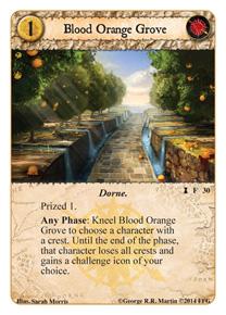 Blood Orange Grove