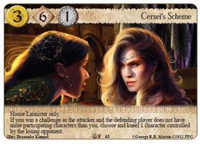 Cersei's Scheme