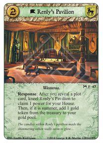 Renly's Pavilion