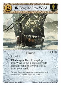 Longship Iron Wind