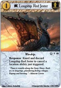 Longship Red Jester