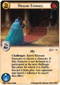 Rhoynar Emissary