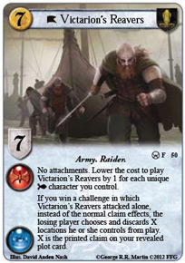 Victarion's Reavers