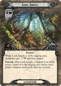 Lush Jungle - The Grey Havens - Lord of the Rings LCG - Lord
