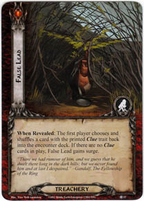 Lord Of The Rings Cards Hunt For Gollum