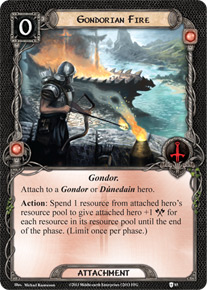 Gondorian Fire Assault On Osgiliath Lord Of The Rings Lcg Lord