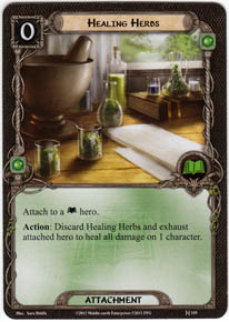 Healing Herbs - Foundations of Stone - Lord of the Rings LCG