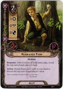 Pourquoi la meule (défausser des cartes depuis le deck) n'est pas grave Ffg_keen-eyed-took-thoem