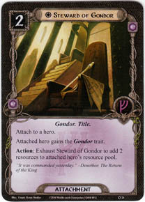 Steward Of Gondor Core Set Lord Of The Rings Lcg