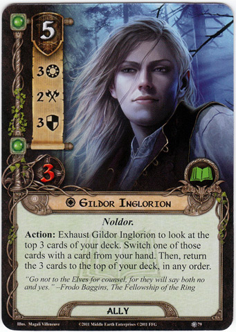 Lord Of The Rings Lcg Miruvor