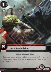 Force Manipulation