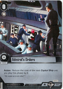 Admiral's Orders