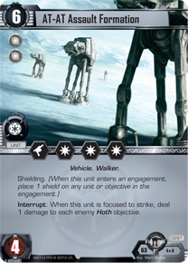 AT-AT Assault Formation