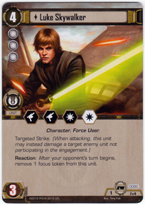 I'm Luke Skywalker, I'm here to rescue you.