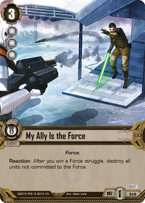 My Ally Is the Force