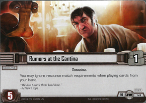 Rumors at the Cantina