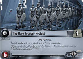 The Dark Trooper Project
