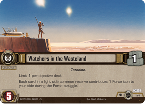 Watchers in the Wasteland